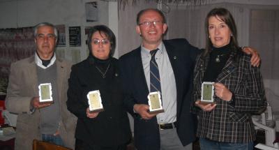 Club de Leones Sauce, reconocido en Actividades de Servicio.