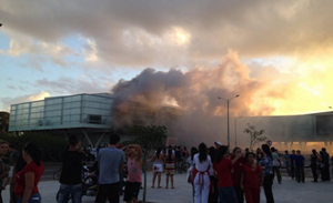 Incendio en Shopping Costa Urbana