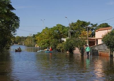 Inundaciones en Durazno